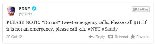 מכבי-אש ניו יורק (FDNY) מבקשים מהציבור להפסיק לצייץ קריאות חירום ולפנות למוקד 911